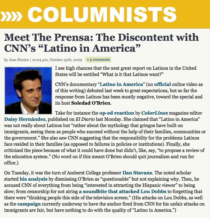 MTP Latino in America